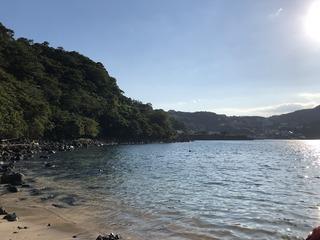 2020.8.12川奈の隠れ砂浜