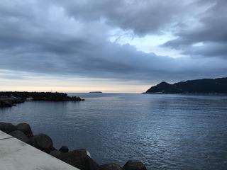 多賀湾の夕陽.jpg